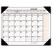 At-A-Glance Two-Color Monthly Desk Pad Calendar