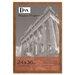DAX® Plastic Poster Frame, Traditional with clear plastic window, 24 x 36, Medium Oak