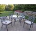 Oakland Living Mississippi Hummingbird Dining Set with Cushions