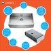 Vigo 36 inch Farmhouse Apron Single Bowl 16 Gauge Stainless Steel Kitchen Sink
