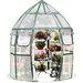 Flowerhouse Conservatory 8.5 Ft. W x 8.5 Ft. D PVC Greenhouse