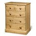 Home & Haus Frie 4 Drawer Chest of Drawers