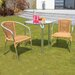 Cozy Bay Frappe 4 Seater Dining Set
