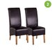 Cozy Bay Oakland Solid Oak Upholstered Dining Chair