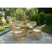 Cozy Bay Victoria 4 Seater Dining Set with Cushions