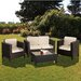 Cozy Bay Morocco 4 Piece Lounge Set