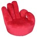 Home Essence Persona OK Swivel Hand Chair in Red