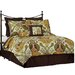 Pointehaven Hannah 8 Piece Bed in a Bag Set