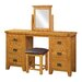 Heartlands Furniture Acorn Square Dressing Table Mirror