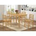 Heartlands Furniture York Solid Rubberwood Dining Chair