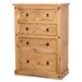 Heartlands Furniture Rustic Corona 4 Drawer Chest of Drawers