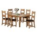 Heartlands Furniture Stirling Extendable Dining Table and 6 Chairs