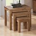 Heartlands Furniture Emily 3 Piece Nest of Tables