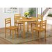 Heartlands Furniture York Dining Table and 4 Chairs