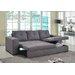 Heartlands Furniture Gianni Chaise Sofa Bed
