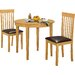 Heartlands Furniture Lunar Dining Table and 2 Chairs