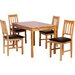 Heartlands Furniture Hyde Dining Table and 4 Chairs