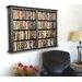Venture Horizon VHZ Entertainment Double Wall Mounted Storage Rack