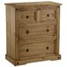 Home & Haus Traditional Corona 4 Drawer Chest of Drawers