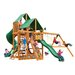 Gorilla Playsets Great Skye I with Amber Posts and Canopy Cedar Swing Set