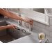InSinkErator HC View Two Handle Single Hole Instant Hot and Cold Water Dispenser Faucet