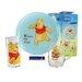Creatable Children's Service Winnie Pooh 3 Piece Place Setting