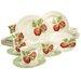 Creatable Stoneware New Orchard Combo Service 30 Piece Dinnerware Set