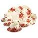 Creatable Stoneware Passion Blossom Combo Service 30 Piece Dinnerware Set