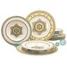 Creatable Majestosa 12 Piece Porcelain Dinnerware Set
