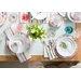 Creatable Frederike Porcelain Plate 12 Piece Set