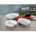Creatable Big 3 Pieces Baking Dish Set