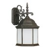 Capital Lighting Main Street 1 Light Outdoor Wall Lantern