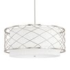 Capital Lighting Sawyer 4 Light Drum Pendant