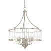 Capital Lighting Hamilton 6 Light Candle Chandelier