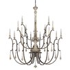 Capital Lighting Chateau 16 Light Candle Chandelier