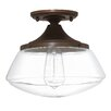 Capital Lighting 1 Light Semi Flush Mount