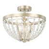 Capital Lighting Camille 3 Light Semi-Flush Mount