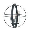 Capital Lighting Langley 4 Light Globe Pendant