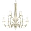 Capital Lighting Windsor 10 Light Candle Chandelier