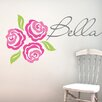 Alphabet Garden Designs Bella Rose Wall Decal