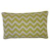 Jiti Bright and Fresh Zig Zag Cotton Lumbar Pillow
