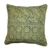 Jiti Bright and Fresh Art Rug Block Printed Cotton Throw Pillow