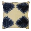 Jiti Bright and Fresh Die Kites Cotton Throw Pillow