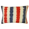 Jiti Bright and Fresh Bands Cotton Lumbar Pillow