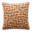 Jiti Etch Cotton Throw Pillow
