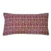 Jiti Stamp Berry Cotton Lumbar  Pillow