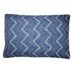 Jiti Tie Dye Denim Cotton Lumbar Pillow