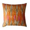 Jiti Tiger Eye Cotton Throw Pillow