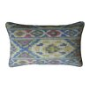 Jiti Real Ikat Cotton Lumbar Pillow