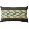 Jiti Hilo Ikat Cotton Lumbar Pillow